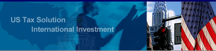 US Tax Solution International Investment